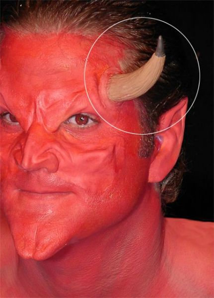 Prosthetic Ears Devil style Halloween Satan Lucifer